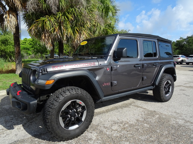 Pre-Owned 2018 Jeep All-New Wrangler Unlimited Rubicon