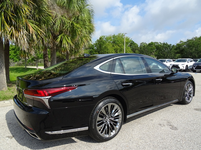 Certified Pre Owned 2018 Lexus Ls 500 Ls 500 4dr Car In Sarasota