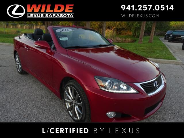Exceptional Certified Pre Owned 2015 Lexus IS 250C