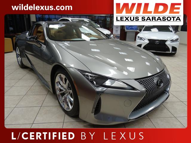 Certified Pre-Owned 2018 Lexus LC 500 LC 500 2dr Car in Sarasota ...