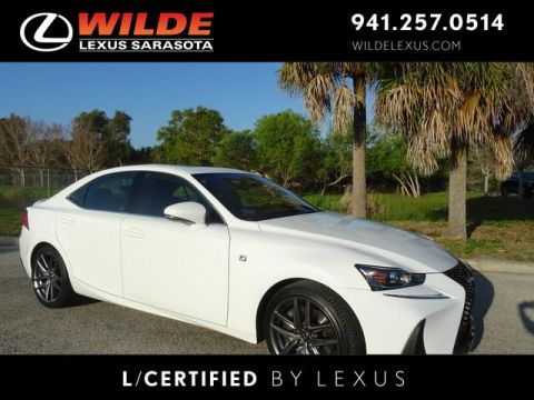 Pre-Owned 2017 Lexus IS Turbo F Sport IS TURBO