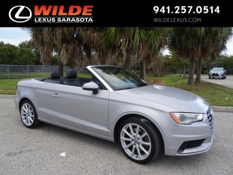 Pre-Owned 2015 Audi A3 Cabriolet 2.0T Premium