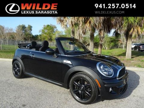Pre-Owned 2015 MINI Convertible S